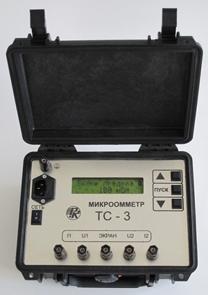 Микроомметр ТС-3